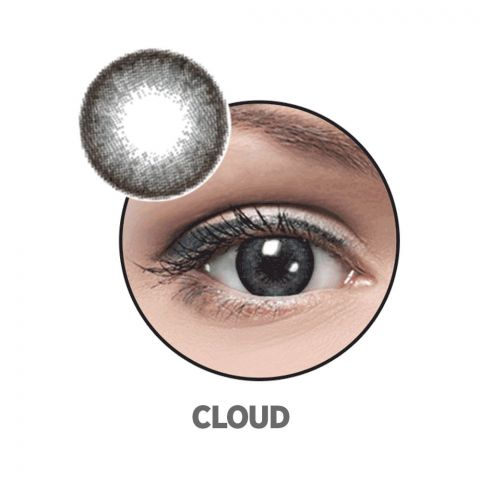 Optiano Soft Color Contact Lenses, Cloud
