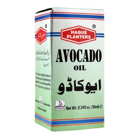 Haque Planters Avocado Oil, 10ml