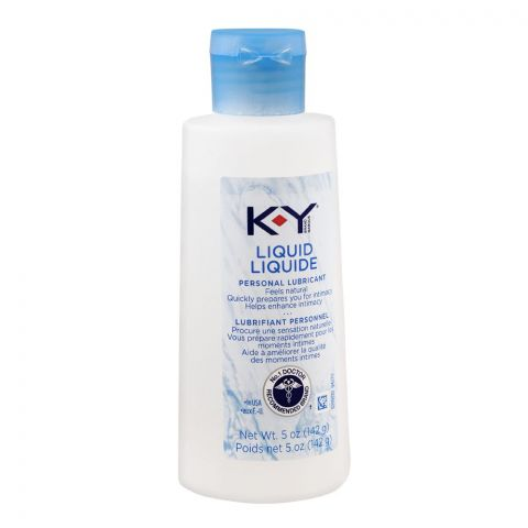 K-Y Liquid Personal Lubricant, 142g