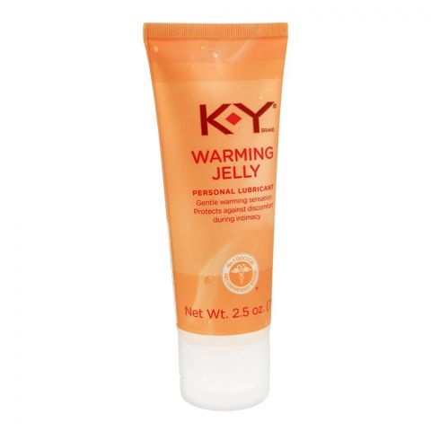 K-Y Warming Jelly Personal Lubricant, 71g