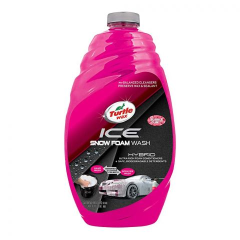 Turtle Wax Hybrid ICE Snow Foam Wash, 1.42 Liters, 50990