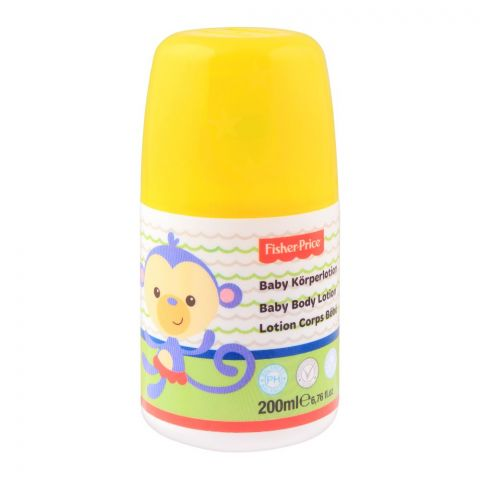 Fisher Price Baby Body Lotion, 200ml