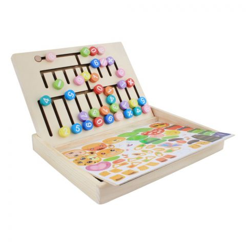 Live Long Wooden Puzzle Drawing Board, 2305-21-D