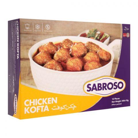 Sabroso Chicken Kofta, 12 Pieces, 340g