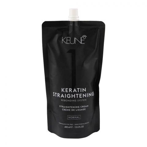 Keune Keratin Straightening Rebonding System, Straightening Cream, Normal 1, 400ml