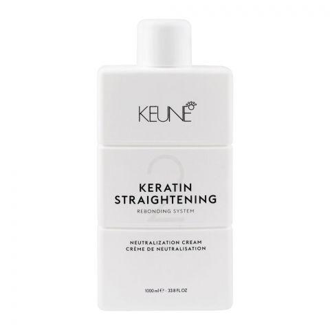 Keune Keratin Straightening Rebonding System, Neutralization Cream, 1000ml