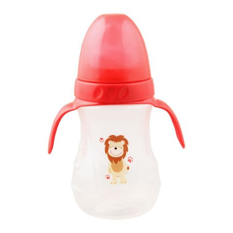Baby World Animals Wide Neck Feeding Bottle, 250ml/8oz, BW4008