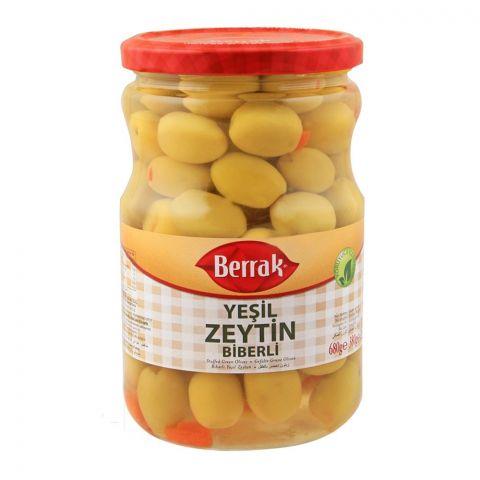 Berrak Stuffed Green Olives, 720ml