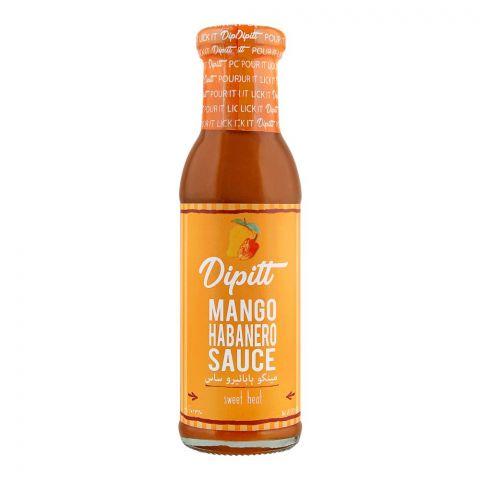 Dipitt Mango Habanero Sauce, 310g
