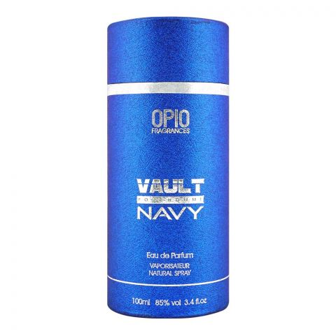 Opio Vault Navy Pour Homme Eau De Parfum, Fragrance For Men, 100ml
