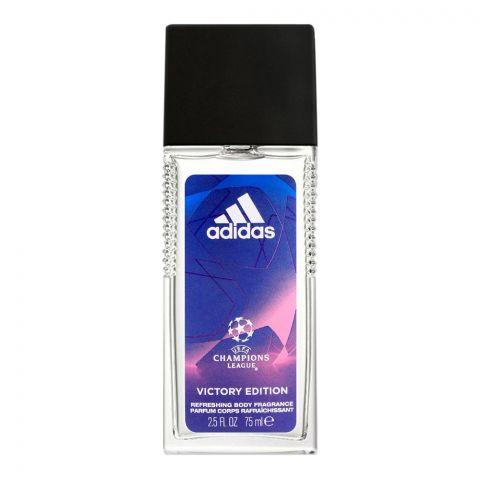 Adidas YEFA Champions League Victory Edition Refreshing Body Fragrance, For Men, 75ml