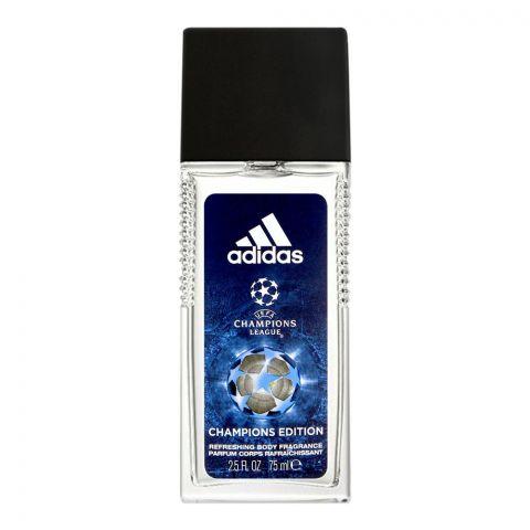 Adidas YEFA Champions League Champions Edition Refreshing Body Fragrance, For Men, 75ml