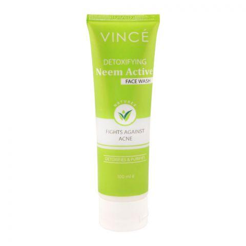 Vince Detoxifying Neem Active Face Wash, 100ml