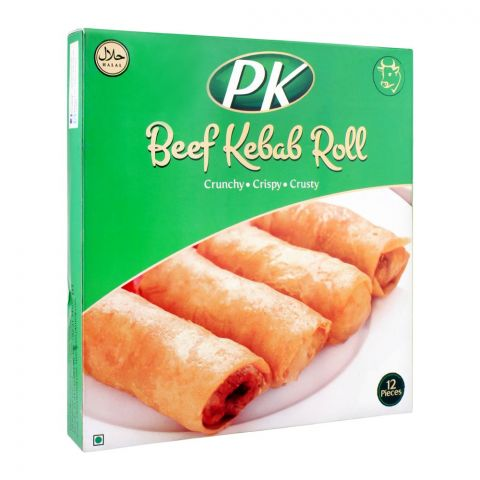 PK Beef Kebab Roll, 12 Pieces