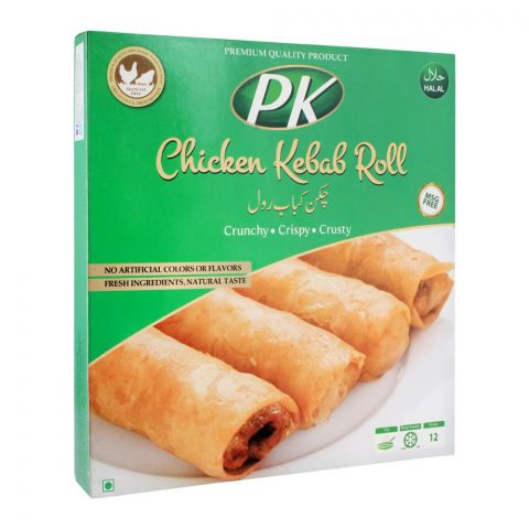 PK Chicken Kebab Roll, 12 Pieces