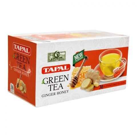 Tapal Ginger Honey Green Tea Bag, 30-Pack