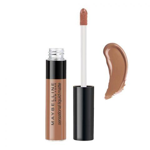 Maybelline New York Color Sensational Liquid Matte Lipstick, 07 Barely Nude