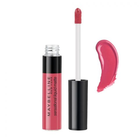 Maybelline New York Color Sensational Liquid Matte Lipstick, 05 Keep It Mellow