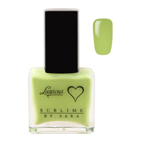 Luscious Cosmetics Nail Polish, Sublime By Sara, 14ml