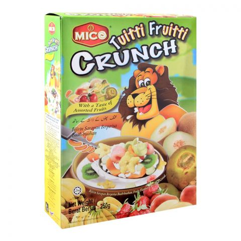 Mico Tuitti Fruitti Crunch Cereal, Assorted Fruits, 250g