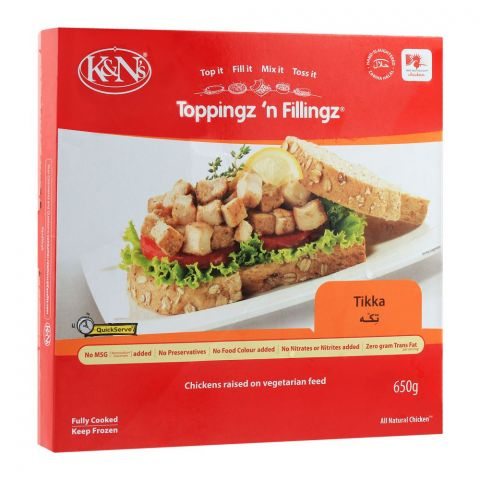 K&N's Toppingz 'N Fillingz, Tikka, 650g