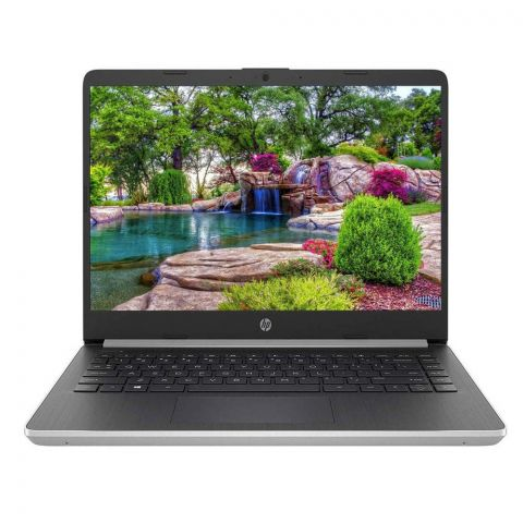 HP 10th Generation Laptop 14 DQ1037WM, i5-1035G4, 4GB, 128GB SSD, 14 Inches, Windows 10
