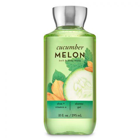 Bath & Body Works Cucumber Melon Shea & Vitamin E Shower Gel, 295ml