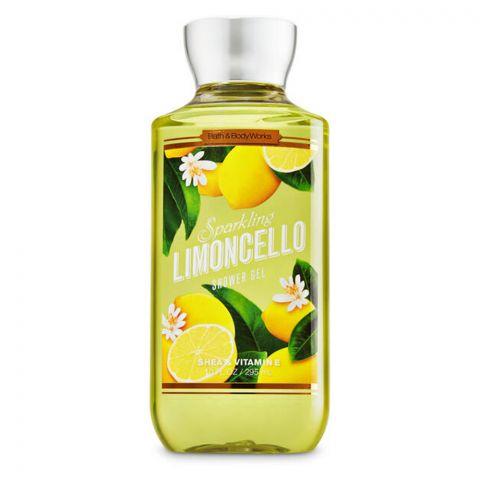 Bath & Body Works Sparkling Limongello Shea & Vitamin E Shower Gel, 295ml