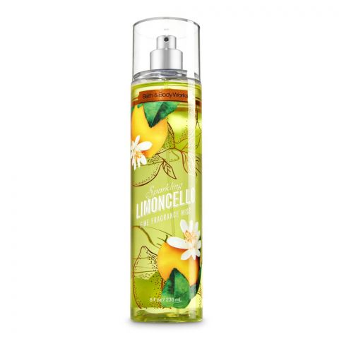 Bath & Body Works Sparkling Limoncello Fine Fragrance Mist, 236ml