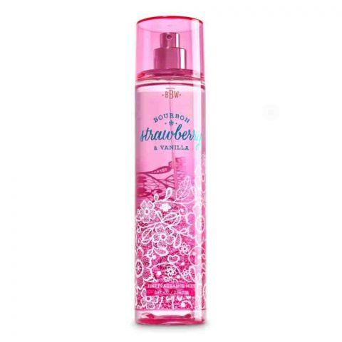 Bath & Body Works Bourbon Strawberry & Vanilla Fine Fragrance Mist, 236ml