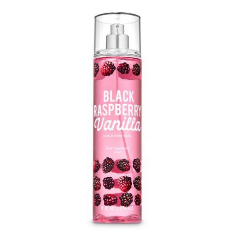 Bath & Body Works Black Raspberry Vanilla Fine Fragrance Mist, 236ml