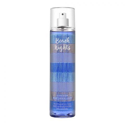 Bath & Body Works Beach Nights Summer Marshmallow Fine Fragrance Mist, 236ml