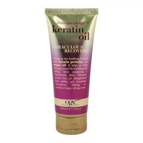 OGX Anti-Breakage + Keratin Oil Miraculous Recovery, 200ml