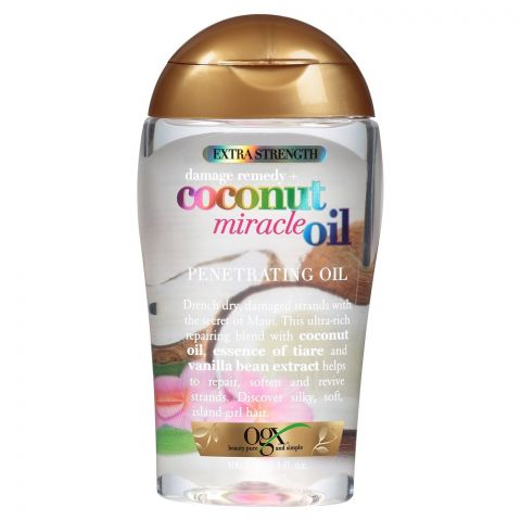 OGX Damage Remedy + Coconut Miracle Penetrating Oil, 100ml