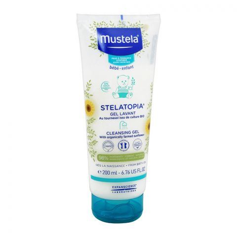 Mustela Stelatopia Cleansing Gel, 200ml