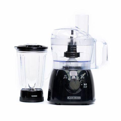 Black & Decker 3-In-1 2-Speed Food Processor, 400W, 26 Functions, FX400B
