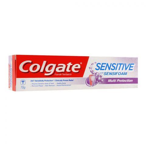 Colgate Sensitive Sensifoam Multi Protection Toothpaste, 70g