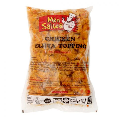 MonSalwa Chicken Fajita Topping, 500g