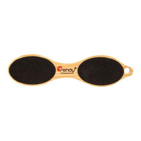 Trendy 4-In-1 Wooden Foot Filer, TD-182