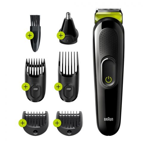 Braun All-in-One 6-In-1 Styling Kit Trimmer & Clipper, MGK3221