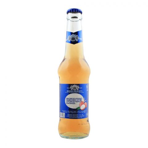 Muree Brewery Lychee Malt, Non-Alcoholic, Bottle, 300ml