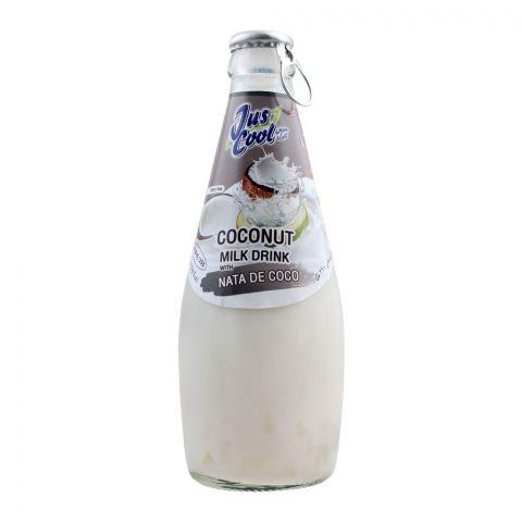Jus Cool Coconut Milk Drink With Nata De Coco, 290ml
