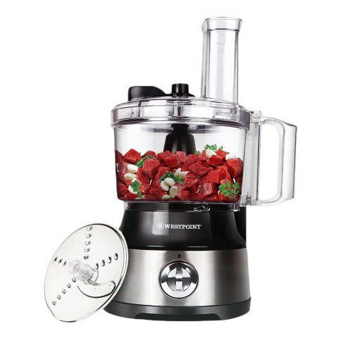 West Point Deluxe Kitchen Robot, Slice + Shred + Chop, 500W, WF-499