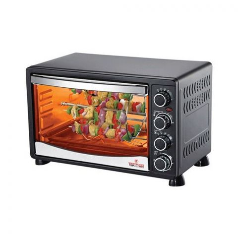 West Point Convection Rotisserie Oven With Kebab Grill, 45 Liters, WF-4500RKC