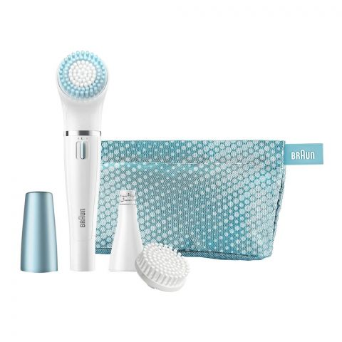 Braun Face Spa Young Beauty Cleansing Brush + Mini Epilator, 832E