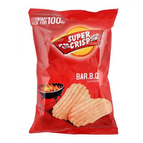 Super Crisp BBQ Crinkled Potato Chips