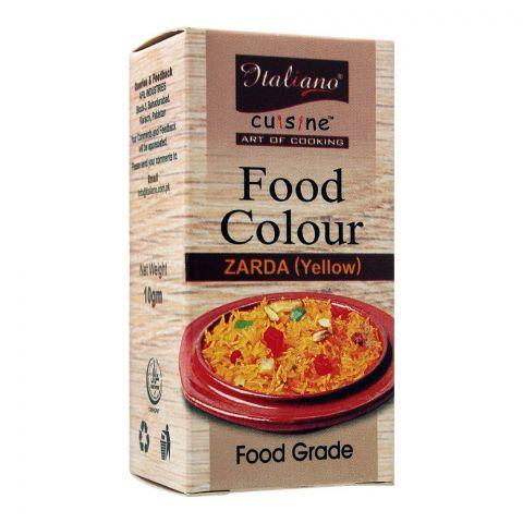 Italiano Food Colour Zarda (Yellow), 10g