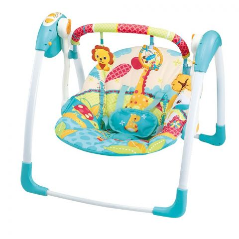 Mastela Deluxe Portable Auto Baby Swing, 6579