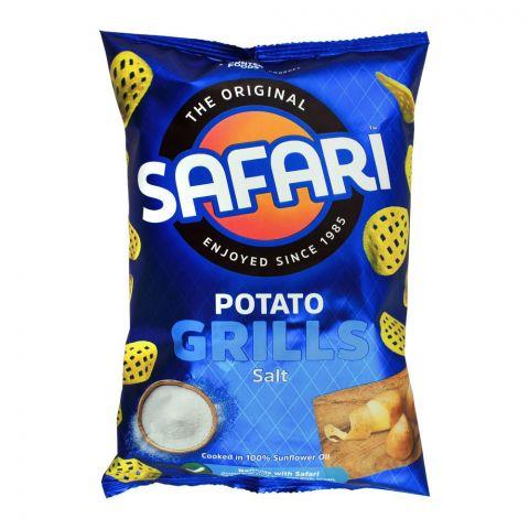 Safari Potato Grills Salt Chips, 60g