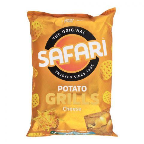 Safari Potato Grills Cheese Chips, 60g